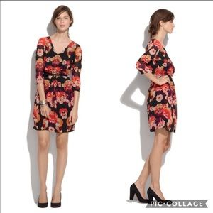 Madewell Broadway & Broome Mirror Floral Dress
